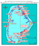Meeru Island Resort - Diving Site Map and North Male Atoll Diving Site Map