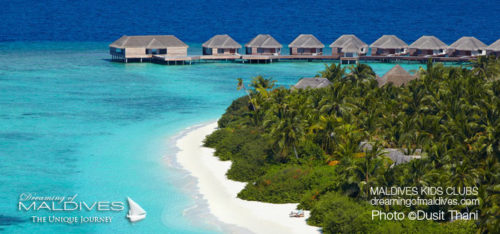 Maldives Family Hotel Dusit Thani The Beach