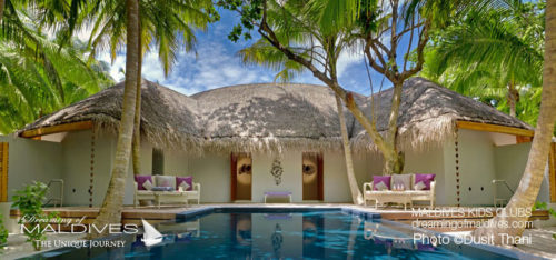 Maldives Family Hotel Dusit Thani Family Villa