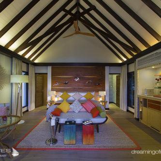 OZEN at Maadhoo Beach Villa Interior