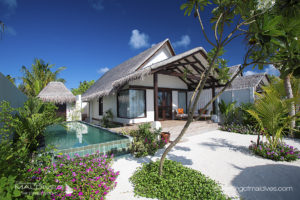 2016 maldives new resort OZEN at Maadhoo.