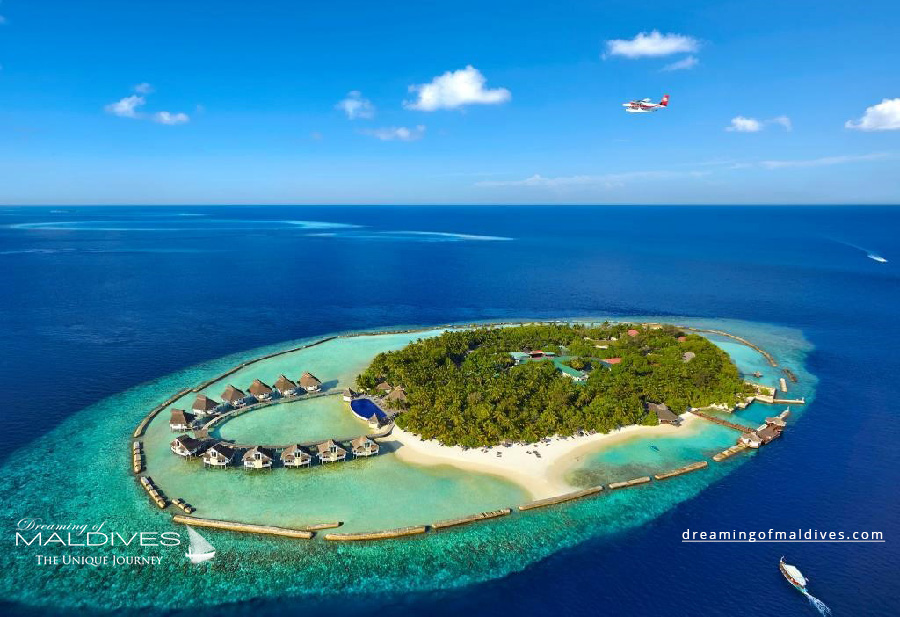 Ellaidhoo Maldives Resort Aerial Photo