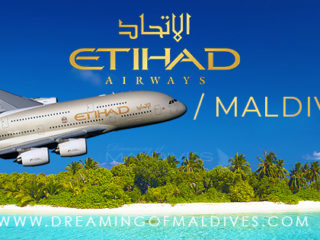 Etihad Airbus A380-800 first flight to Maldives