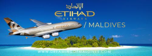 Etihad Airbus A380-800 first flight to Maldives
