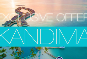 Dreaming of Maldives Exclusive Offer at Kandima Maldives
