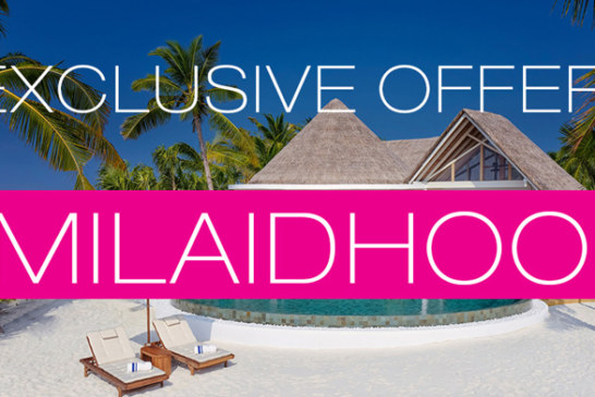Dreaming of Maldives Exclusive Offer at Milaidhoo Maldives