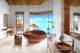 beautiful Bathroom with Ocean view at Fairmont Maldives Sirru Fen Fushi