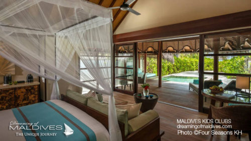 Maldives Family Hotel Four Seasons Kuda Huraa Family Villa