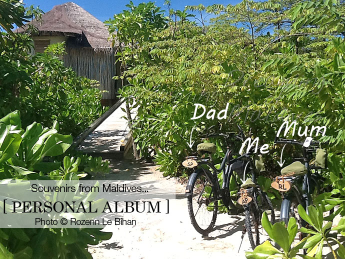 Our Bikes at Six Senses Laamu