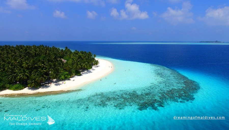 Fihalhohi Maldives Resort Aerial Photo