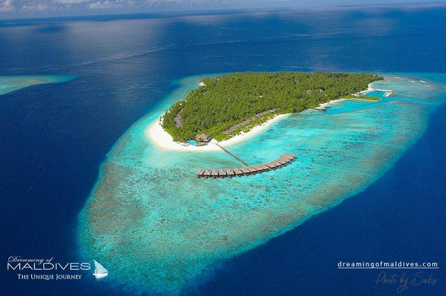 Filitheyo Maldives Resort Aerial Photo