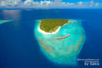 Photo of The Day :  An aerial View of Filitheyo Island Resort Maldives