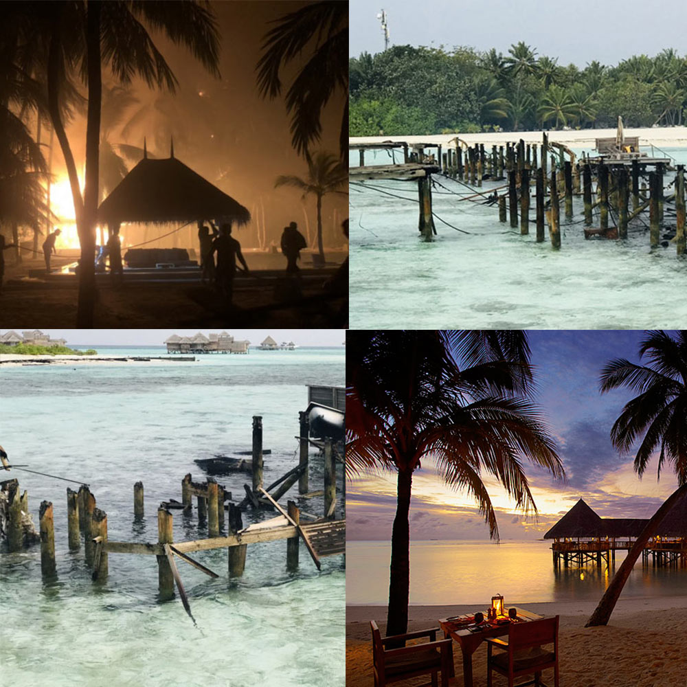 Sad news. A fire partially destroys Gili Lankanfushi Maldives  [ Updated ]