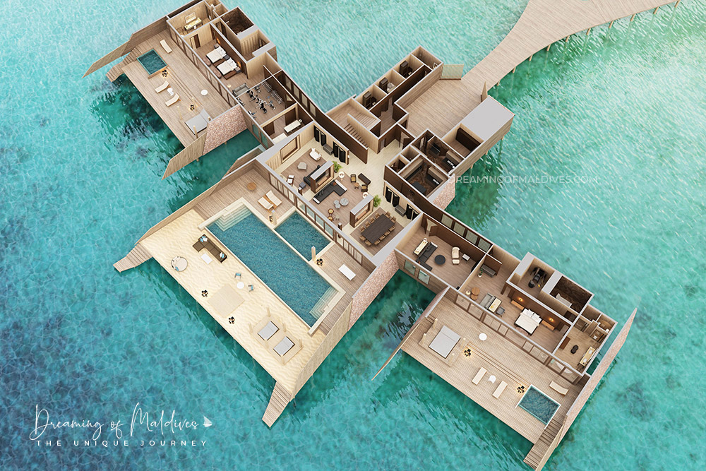 The 5 Largest Water Villas In Maldives Top 5 Biggest Overwater Mansions