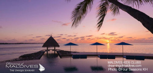 Maldives Family Hotel Four Seasons Kuda Huraa Pool