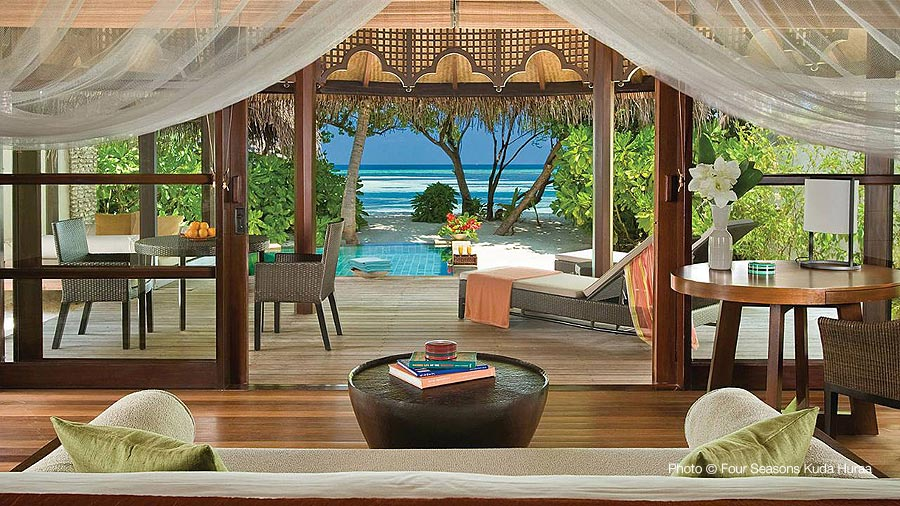 Four Seasons Kuda Huraa - Number 9 Maldives TOP 10 Resorts 2014