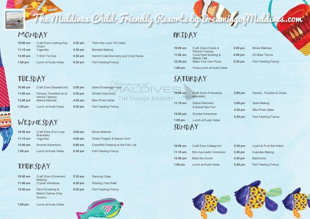four-seasons-landaa-giravaaru-kids-club-program