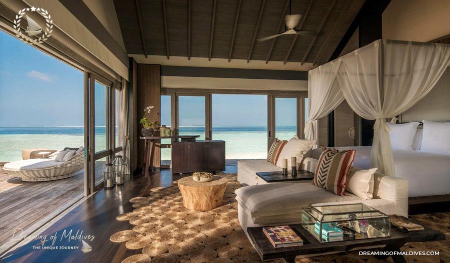 TOP 10 Hôtel de Rêve des Maldives 2018.  Four Seasons Private Island at Voavah Numéro 8 (ex-ae)