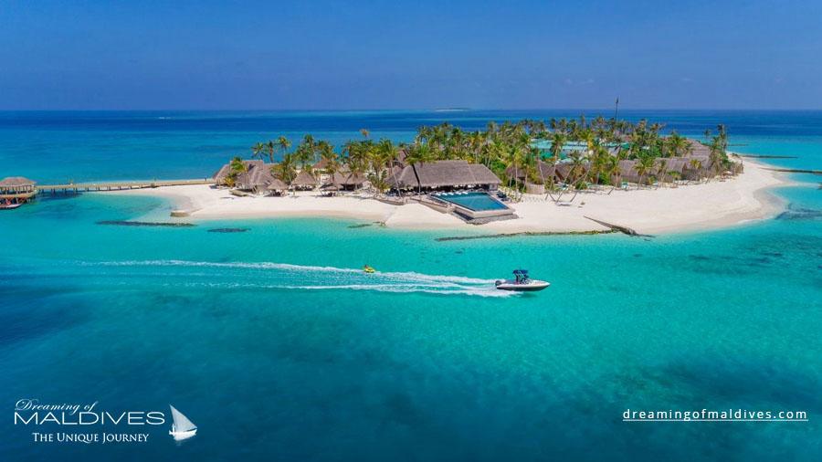 Fushifaru Maldives Resort Aerial Photo