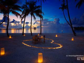 Dreamy Diner at Gili Lankanfushi . Maldives Photo of The Day