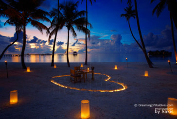 Photo of The Day : A Dreamy Dinner at Gili Lankanfushi Maldives