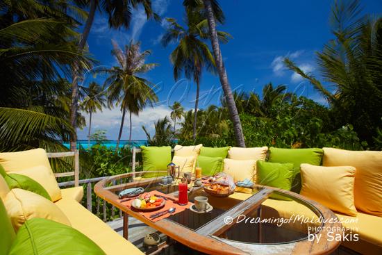 Gili Lankanfushi Maldives - 360 degree Table