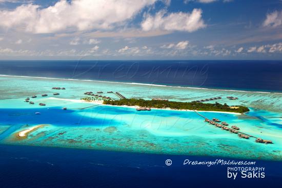 Gili Lankanfushi Maldives Photo of The Island from the air