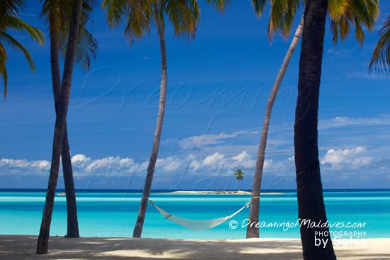 Gili Lankanfushi Maldives Hammock on the beach