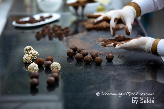 Gili Lankanfushi Maldives - Home made chocolate