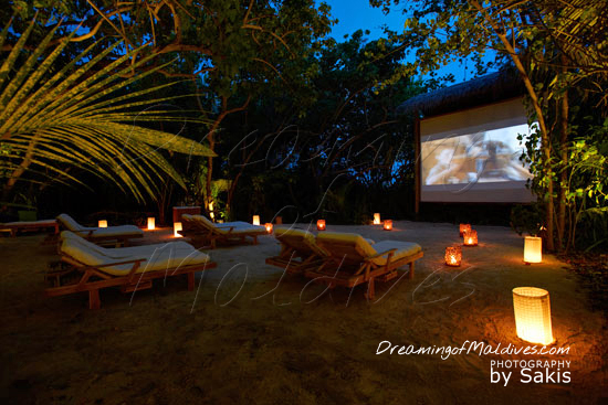Gili Lankanfushi Maldives The Jungle Cinema