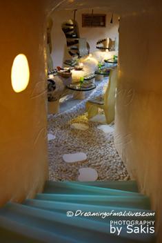 Gili Lankanfushi Maldives - Downstairs to the undergound Cellar