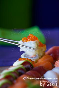 Gili Lankanfushi - The Art-of-Sushi at the Japanese restaurant