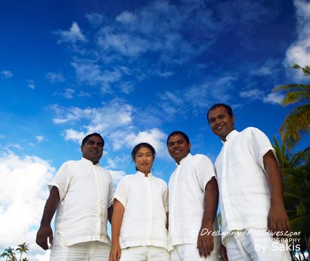 Gili Lankanfushi Maldives - Mr & Mrs Friday, an extraordinary Butler team