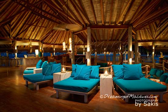 Gili Lankanfushi Maldives - The Over water Bar Restaurant, Interior