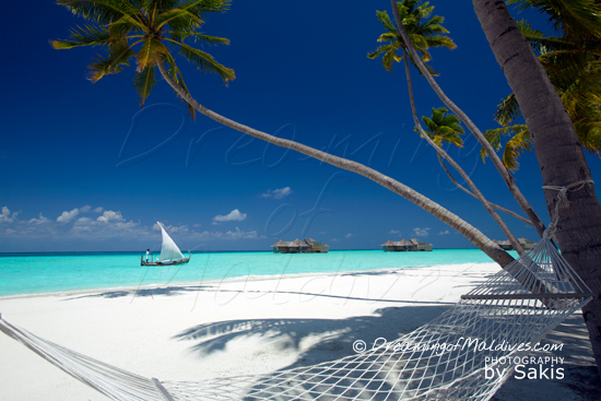 Gili Lankanfushi Maldives Photo from the Beach towards the Crusoe Residences