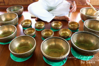 Listen, Relax and Meditate with the Music of the Tibetan Singing Bowls at Gili Lankanfushi Maldives Spa