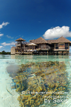 Gili Lankanfushi Maldives Water Villa, The Residence with private Coral Gardens