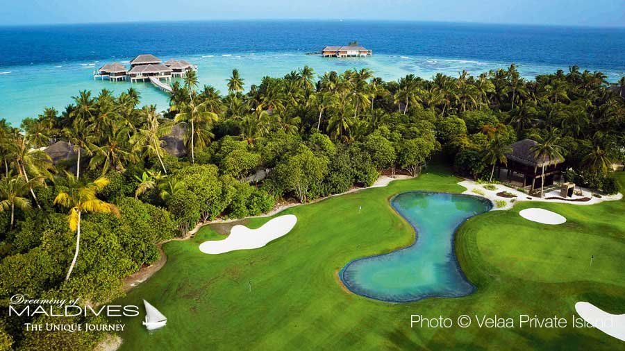 10 Amazing Places in Maldives. The Golf at Velaa Private ISland