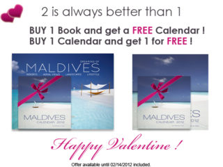Happy Valentine ! Maldives special offer