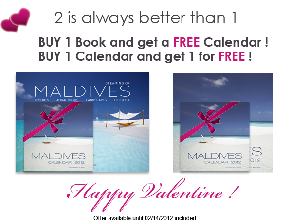 Happy Valentine ! Maldives special offer