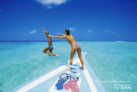 Photo of The Day : Have Fun…You're in Maldives !