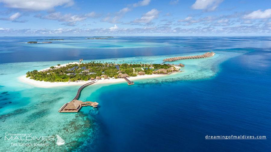 Hurawalhi Maldives Resort Aerial Photo