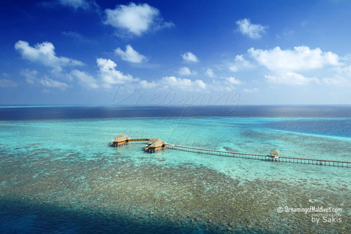 Huvafen Fushi Aerial View - The 2 Ocean Pavilions