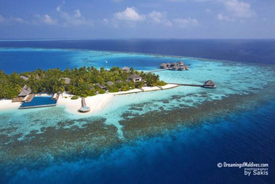 Huvafen Fushi Maldives Aerial Photo Gallery
