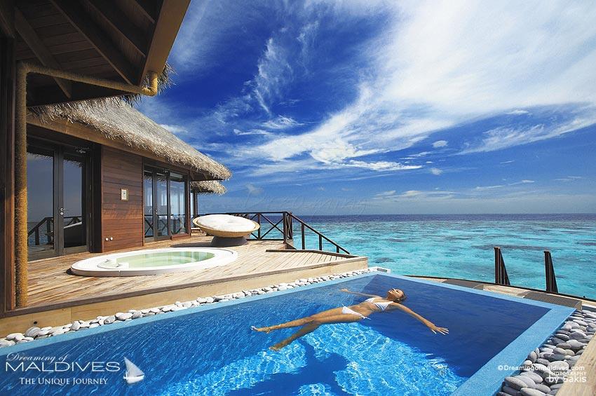 The Best Maldives Water Villas Weve Seen At Huvafen Fushi