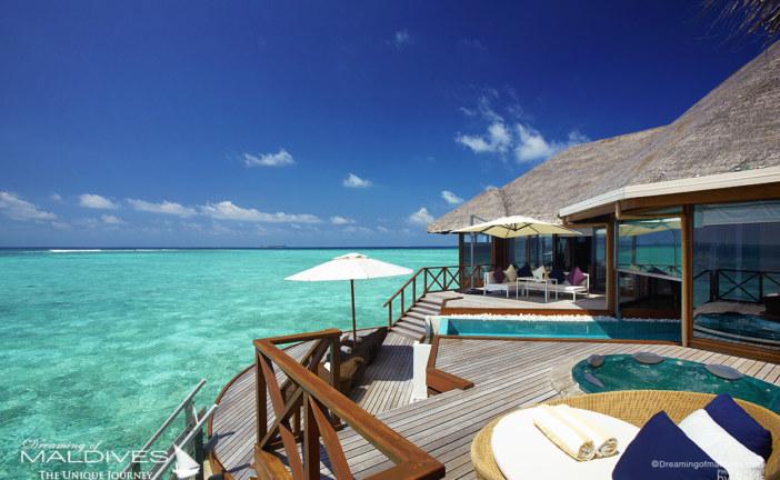 The Best Maldives Water Villas We've Seen at Huvafen Fushi Maldives