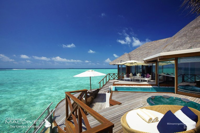 The Best Maldives Water Villas We've Seen at Huvafen Fushi Maldives
