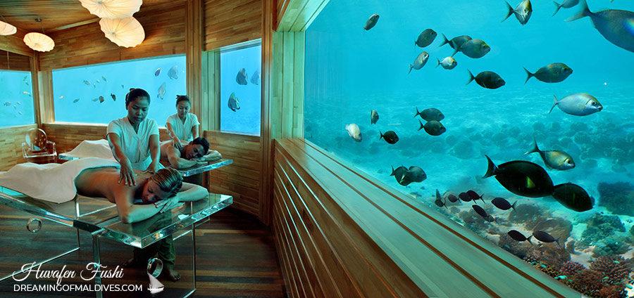 underwater Spa at Huvafen Fushi