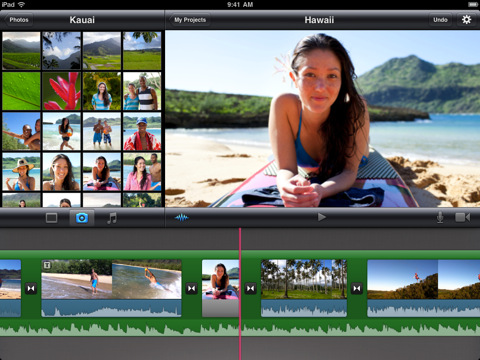 Best Movie Editor app for iPhone and iPad - iMovie