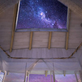 The Incredible Villa retractable roof at Soneva Jani